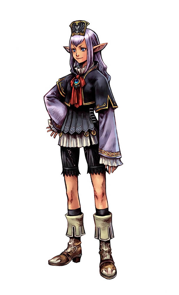 Julie Nathanson as Prishe in Dissidia 012